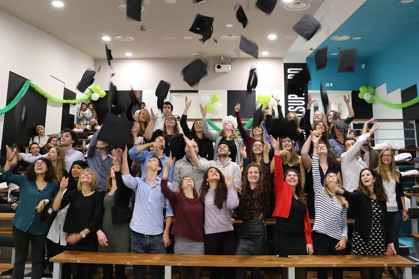 Etudiants diplomés