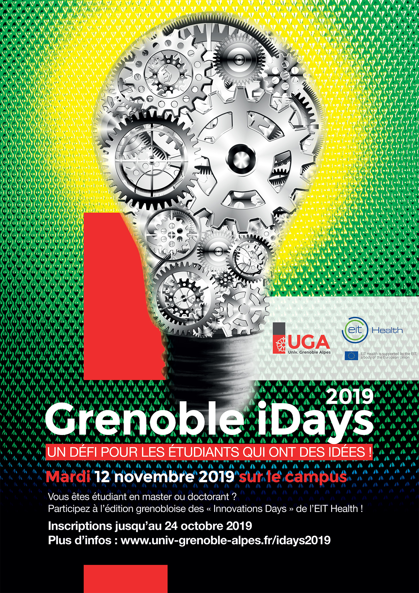 Affiche Grenoble iDays 2019