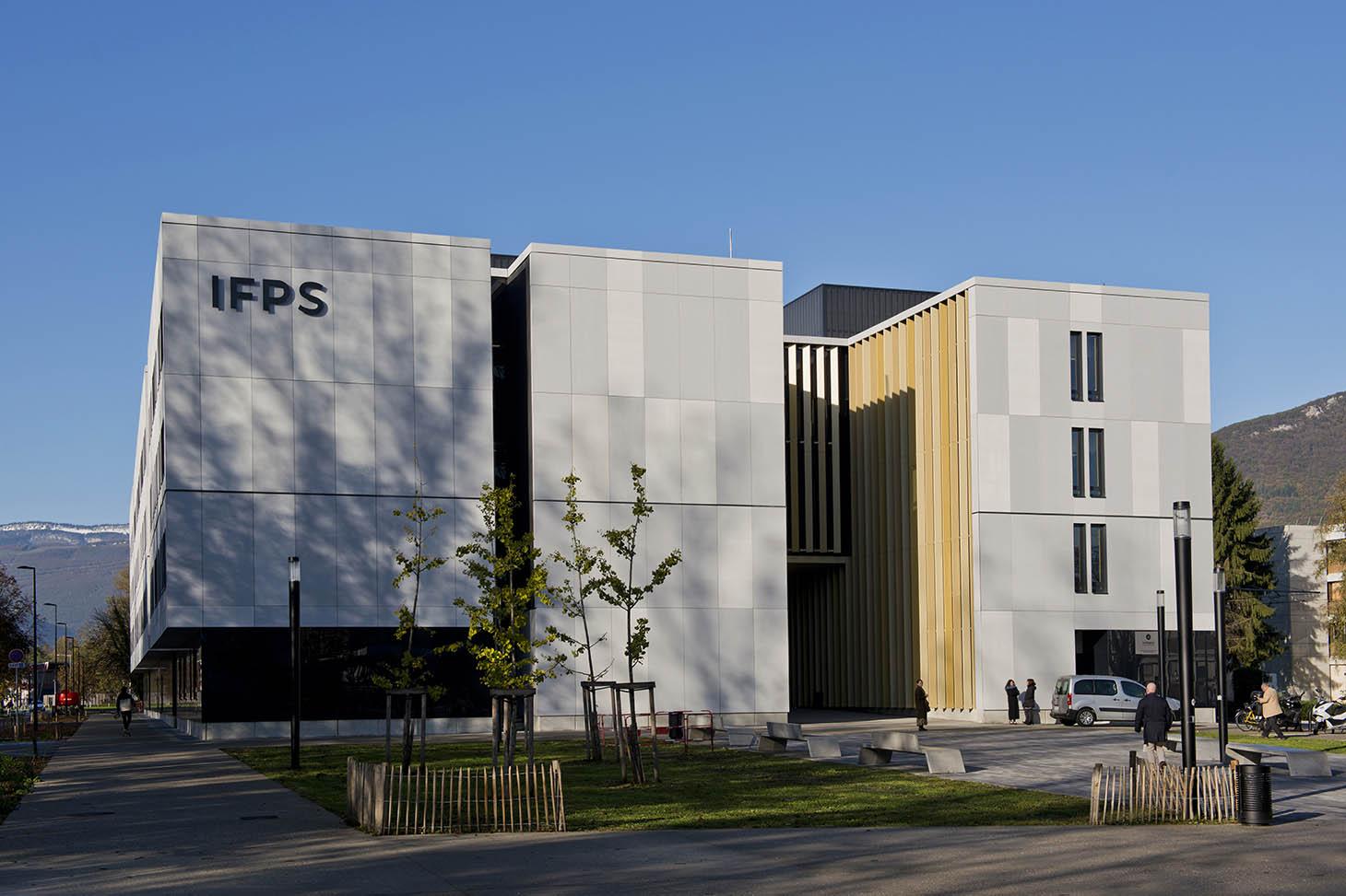 Bâtiment IFPS - © photo : Thierry Morturier