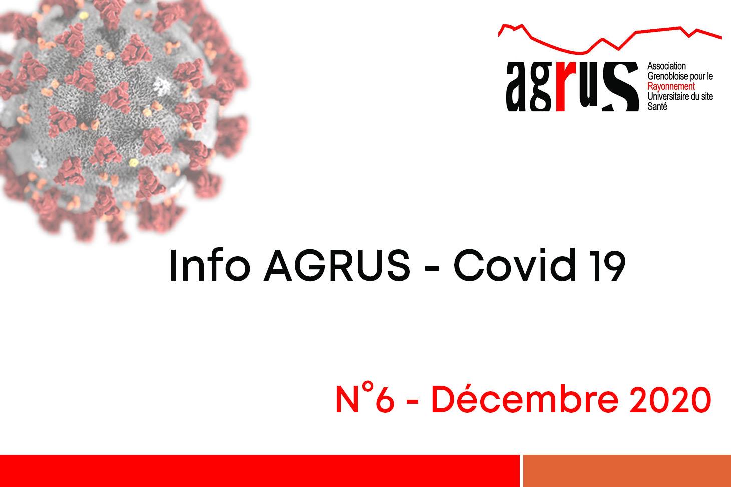 Info AGRUS - Covid19 - n°6