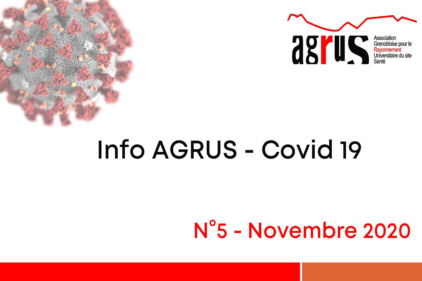 Info AGRUS - Covid19 - n°5