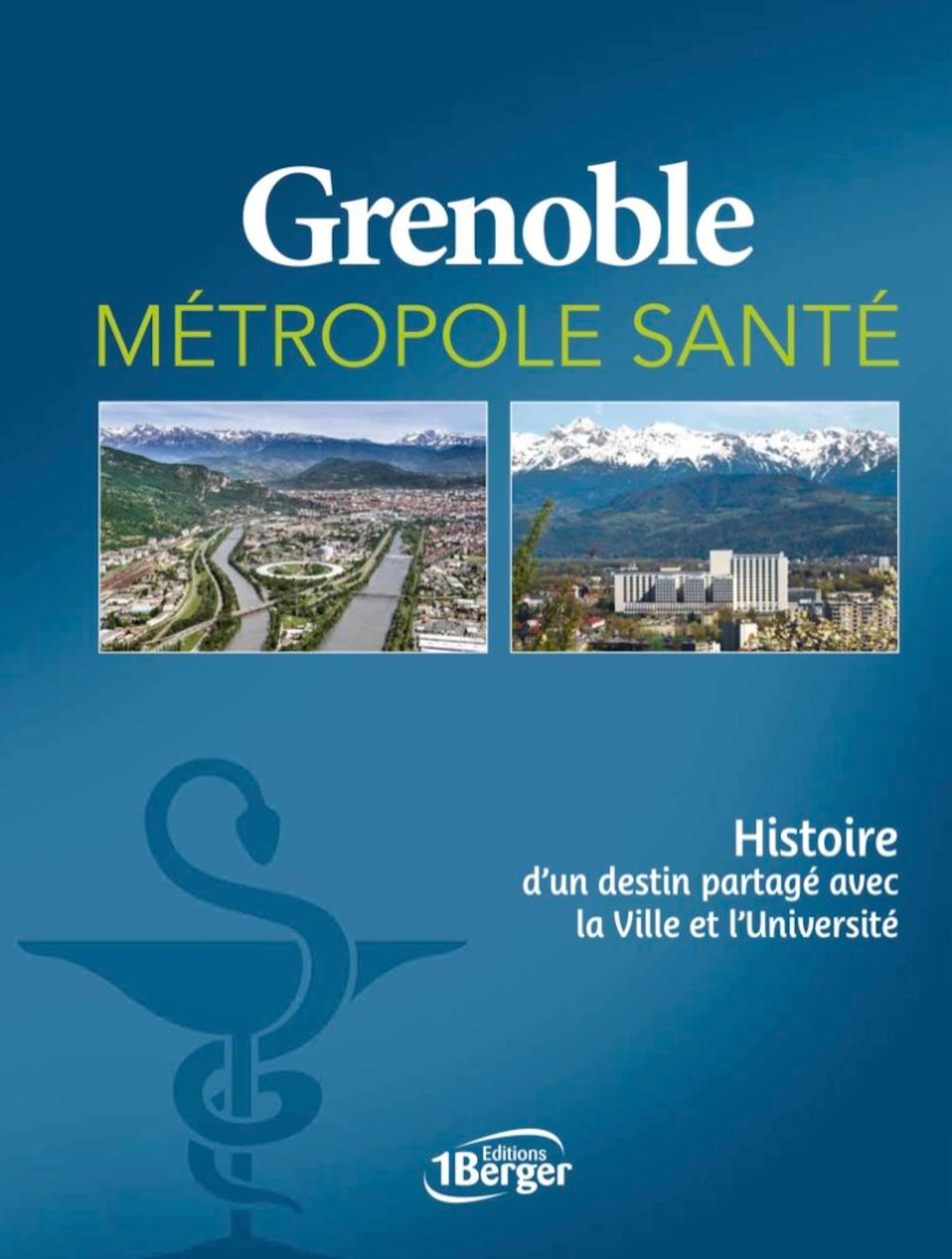 Couverture livre Grenoble Métropole Santé