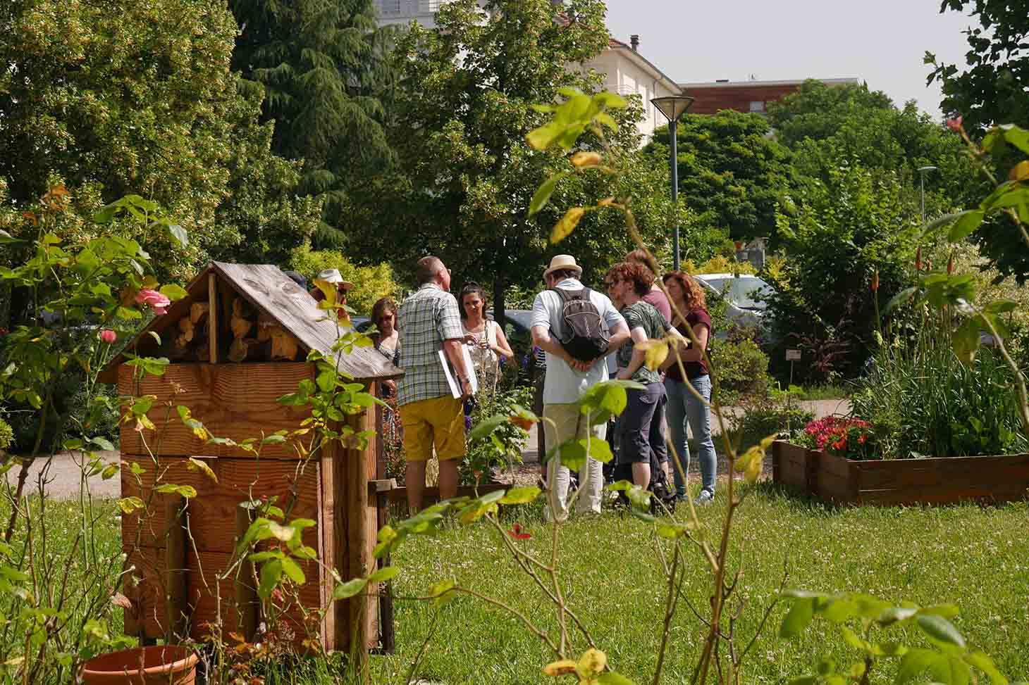 Visite du Jardin Dominique Villars