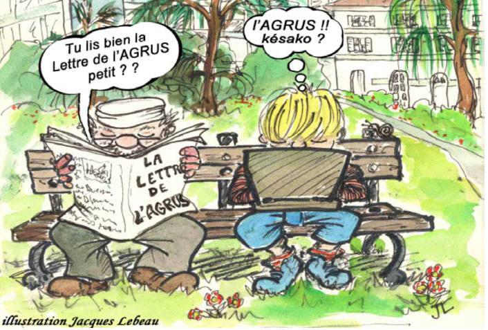 Illustration Lettre AGRUS